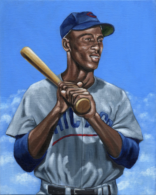 Mr. Cub, Ernie Banks. Let's play two!