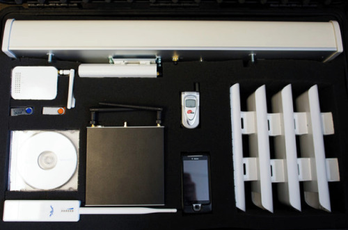 "zeitvox:  U.S. Develops ""Internet in a suitcase""    …the kit is just one of the many tools currently being employed by the Obama Administration to craft ""shadow"" networks in countries whose Internet has been disrupted or, as was the case in Egypt or Libya, turned off entirely. With a moderately inexpensive $2 million price tag, the suitcase is but one of the many projects the U.S. government is reportedly researching and deploying as part of an effort to clandestinely support repressed populations abroad.  >continue<  'Liberation technology' for dissidents  