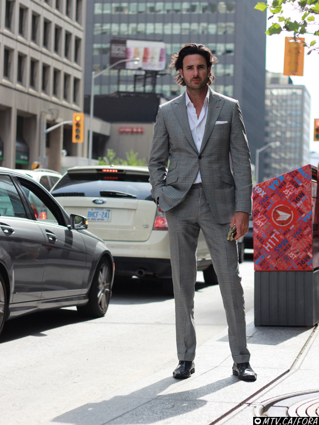 Mike / Bay and Bloor Suit : designed by Mike, tailored by Harry Rosen