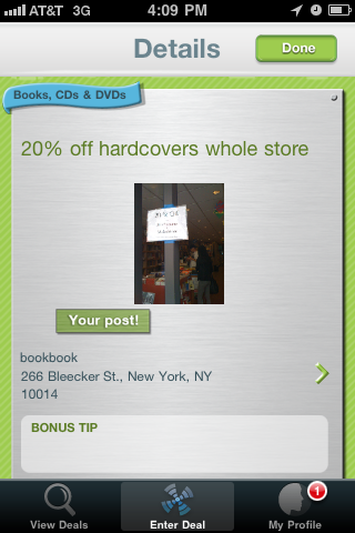 20% off all hardcover books @ BookBook NYC (Blecker St)