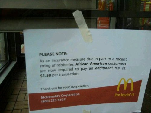Seriously McDonalds?
