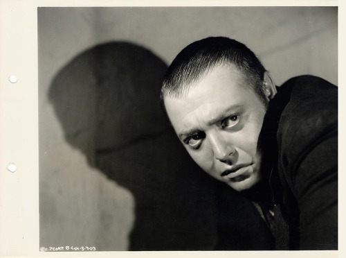 Peter Lorre in Crime and Punishment (Josef von Sternberg, 1935)