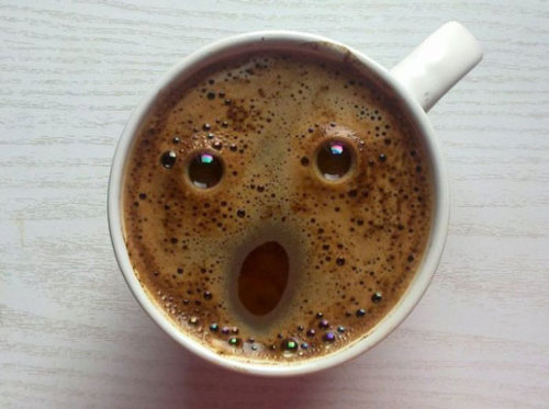 Surprised Hot Chocolate