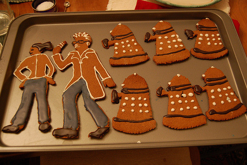 Dr. Who Cookies (by Kids' Writer)