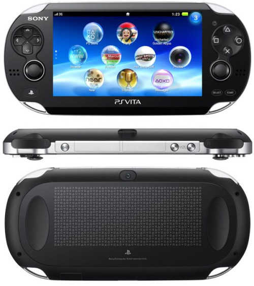 Sony's new handheld , psvita for the win
