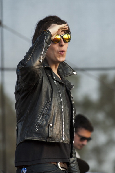 earlysunsetsovermonroeville:  The Strokes perform during the 2011 Bonnaroo Music And Arts Festival on June 12, 2011 in Manchester, Tennessee.