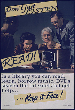 jyhslibrary:  Don't just listen - read! (by Phil Bradley)
