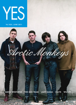 fluorescentstroke:  Arctic Monkeys Yes Magazine cover (Japan)