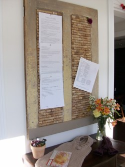DIY Corkboard (literally) via Be Homemade