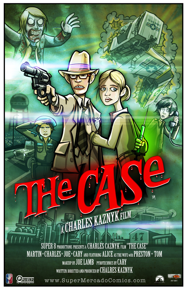 The Case Movie Poster from Super 8 by Yehudi Mercado.
