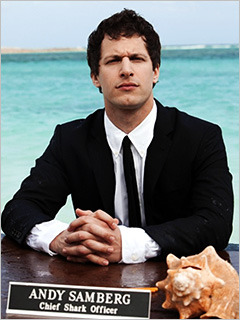 (via Shark Week Andy Samberg | Inside TV | EW.com)