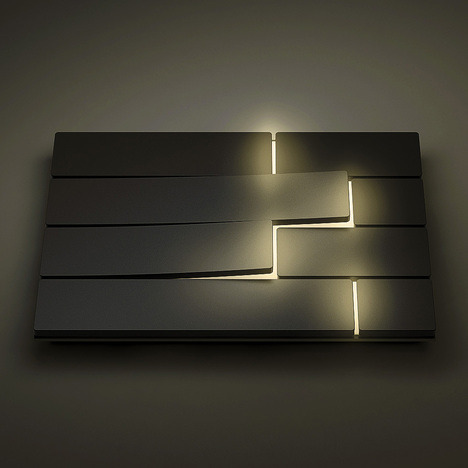 Piano Light Switch by David Dos Santos for Remork