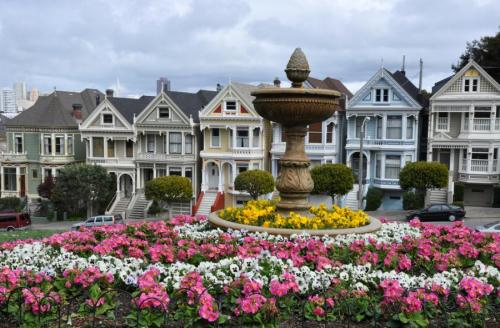 "Lovely Victorian ""Painted Ladies"" in San Francisco, CA"