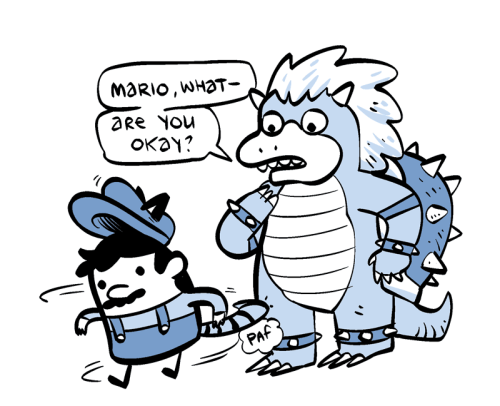 nedroidcomics:  Mario I am worried about you