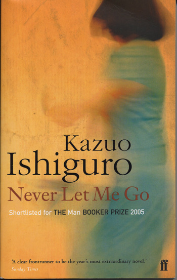 Never Let Me Go  Okay, my probable top five books, in no particular order as as follows: Never Let Me Go  Catcher in the Rye  One Day High Fidelity  American Psycho  What really kills me about all of these is that they have all been made into films. I know it's a statement of the obvious but books aren't films, they're books. Isn't that the whole point? Rarely does an excellent book make and excellent film. At the risk of sounding like I have finally lost what little  'it' I have left, text incites the imagination in a way that film does not. Literature becomes as much a part of your imagination as that of the authors. That said I am not too much of a snob to refuse to watch film adaptations in general.  I am currently making an exception for Never Let Me Go because for me, reading the book was a deeply personal experience. However I am pretty torn at the moment because the film stars two of my favourite actors at the moment Carey Mulligan and Andrew Garfield. I particularly loved Carey's performance in An Education. A film, of which if you admit you like, you gain an immediate and rightfully deserved tag as a Pabst drinking hipster.   Kazua Ishiguro's book details the childhood and adolescence of four young people in what is assumed to be an alternative reality, where the nature of humanity for chosen individuals is in question. It also questions the destiny and the human soul. To reveal much more would spoil the plot. What I really like about the book is that the full horror of the events of the books is revealed slowly over the course of the book rather than in a M Night Shalaman, Sixth Sense style twist. This gives the book a lasting potency.