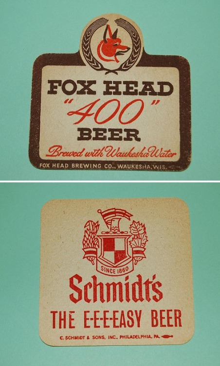 tadcarpenter:  A great set of vintage coasters. (via coltera)