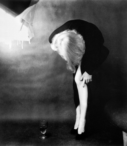 frankie-machine:    Marlene Dietrich photographed by Milton Greene, 1952