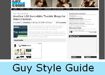 Trend Coffee no Guy Style Guide