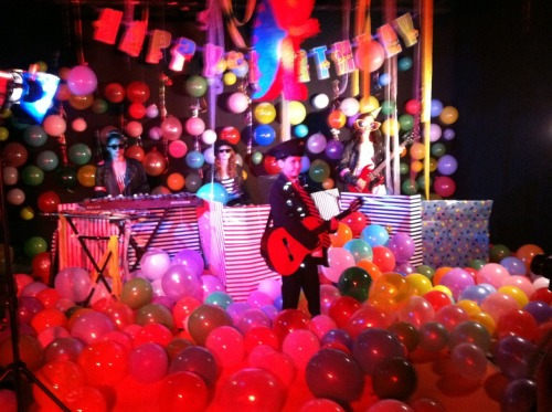 "video shoot for ""it's my birthday!"""