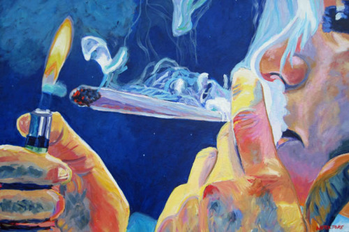 luke-hy-walker:  fuckyeahpsychedelics:  The art of smoking.  Nice