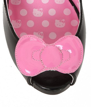 Hello Kitty Pink Bow Heel