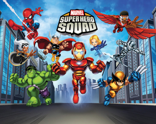 Avengers, for Kids? Super Hero Squad! 323