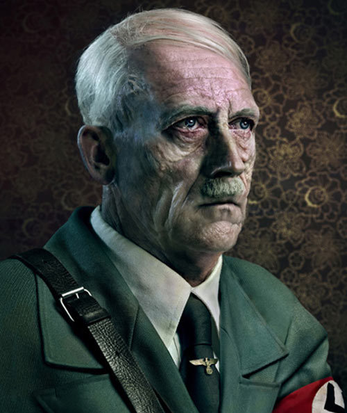 onlylogan:  Old Hitler  Just imagine if he'd won the war.