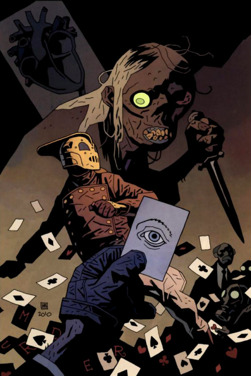 The Rocketeer by Mike Mignola