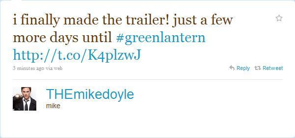 Mike Doyle is the cutest dude alive. He's in trailer 14! I'm going to see this movie because he's in it and he's not even in the first 13 television trailers. But he's so excited about it so whatever. Click through to see the side of Mike Doyle's pretty face for, like, two seconds.  This is now fuckyeahmikedoyle.tumblr.com.