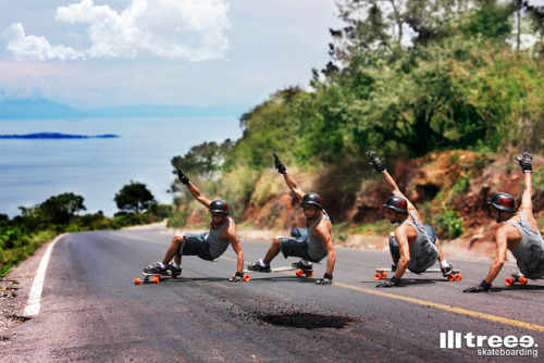 treee-longboarding:  gazela-slide on Flickr.