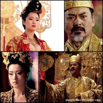 Gong Li and Yun Fat Chow (Curse of the Golden Flower)