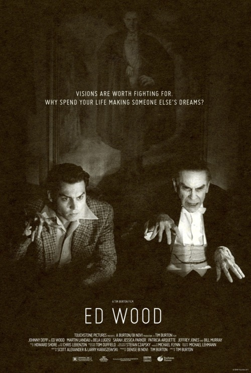 fuckyeahmovieposters:  Ed Wood by Berry Villegas