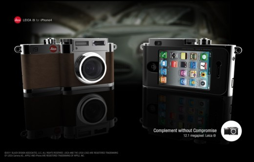 Beautiful combination (via Turn your iPhone into a Leica i9 - Gadgets)