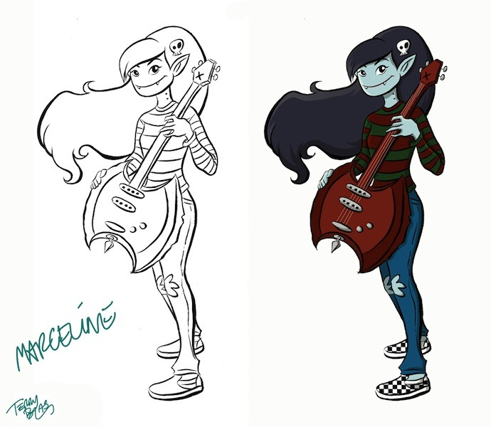 """Marceline"" by Terry Blas"