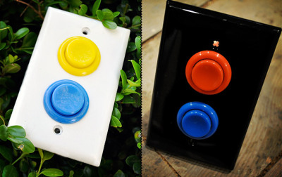 Arcade Light Switch by Aleph Design - Carmichael, California
