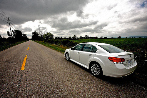 Choosing my direction Starring: '10 Subaru Legacy GT (by michael.banovsky)