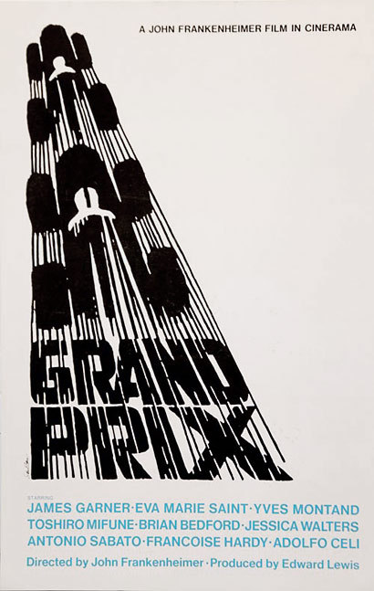 Saul Bass, Grand Prix, 1966