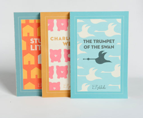 Who doesn't like Stuart Little? These book cover redesigns by Dever Elizabeth Thomas are adorable! Nice work.