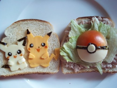 gamefreaksnz:  Pokemon Sandwich