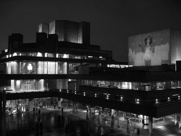 Denys Lasdun's National Theatre, London /