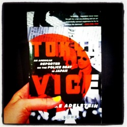 sarawilliams:Book review on 26 Books: Tokyo Vice by Jake Adelstein