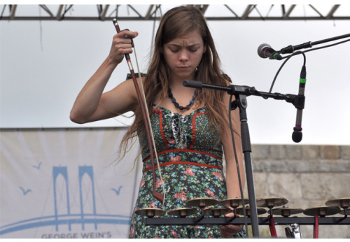 Jocie Adams, The Low Anthem, Newport Folk Festival.