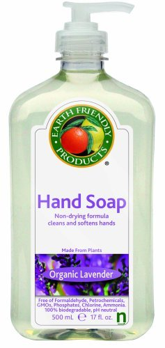 """With this sustainable hand soap you don't have to worry about any chemicals."" Related: If the soap is ""sustainable,"" does that mean it will never run out? found by @LisaDellwo"