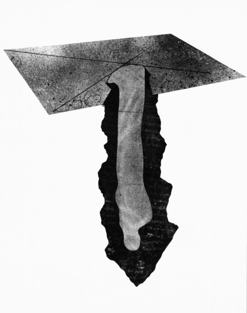 Claes Oldenburg, Proposed Underground Memorial and Tomb for President John F. Kennedy, 1965
