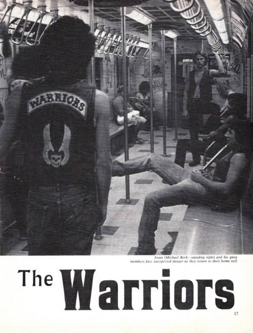 The Warriors - subway scene