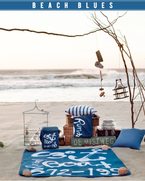 heartbeatoz:  (via Bright.Bazaar: TREND: Beach Blues)