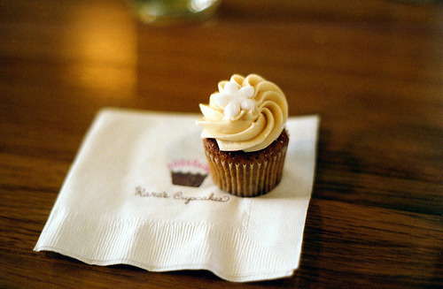 The charm of cupcakes is all in the frosting.