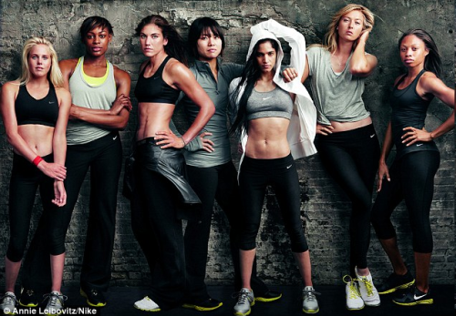The women of Nike - so inspirational