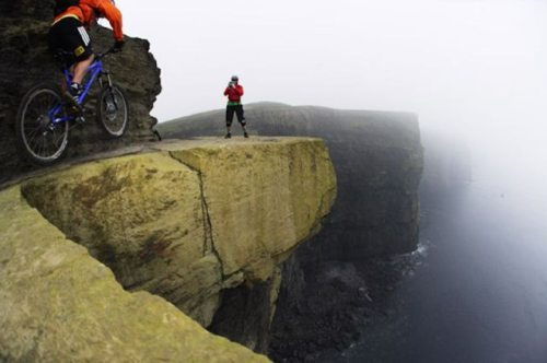Living on the edge…..