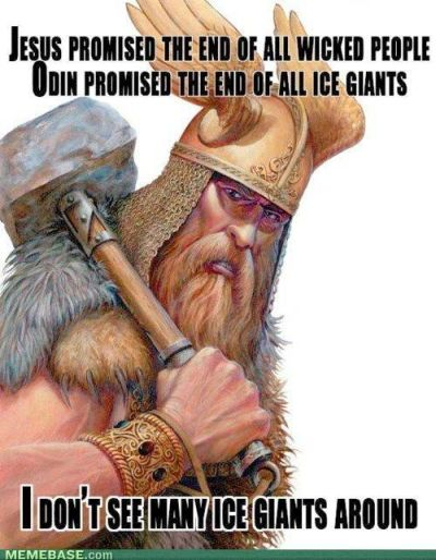 I don't see many ice giants around